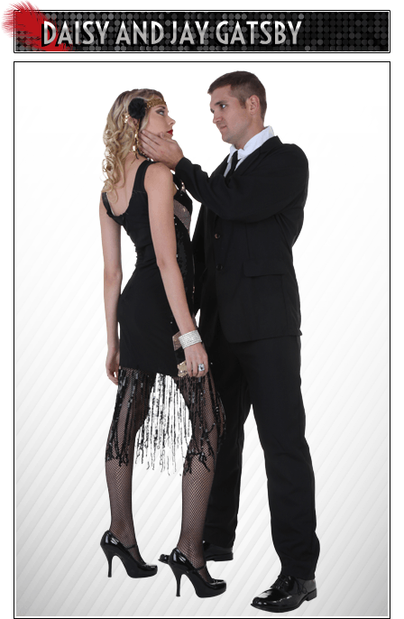 Daisy and Jay Gatsby Couples Costume