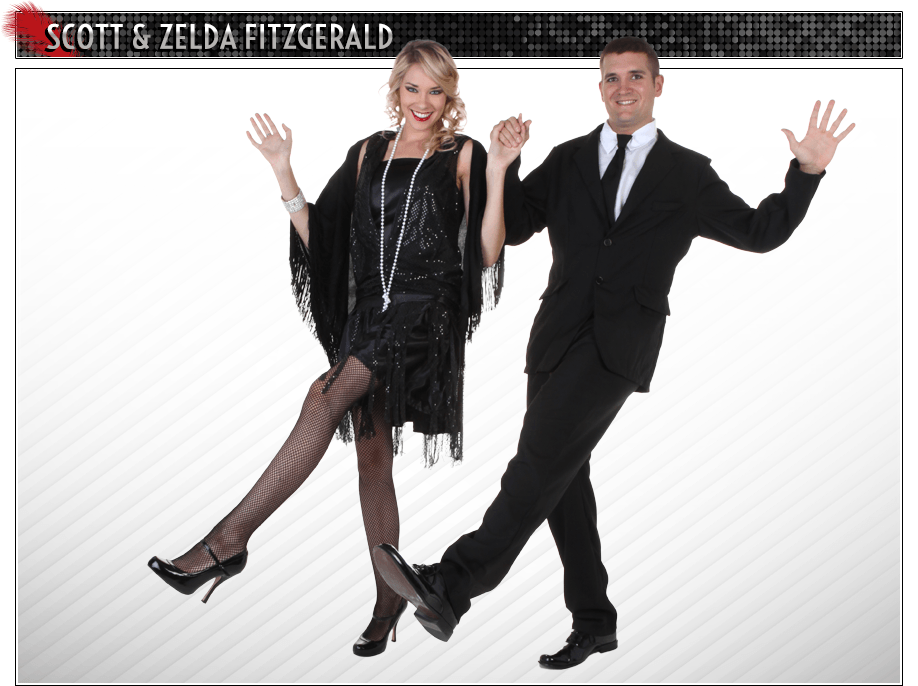 Scott and Zelda Fitzgerald Couples Costume