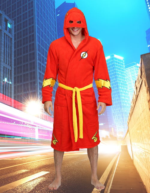 The Flash Bathrobe