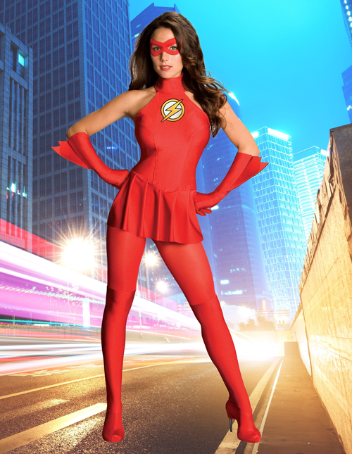 The Flash Costume for Women