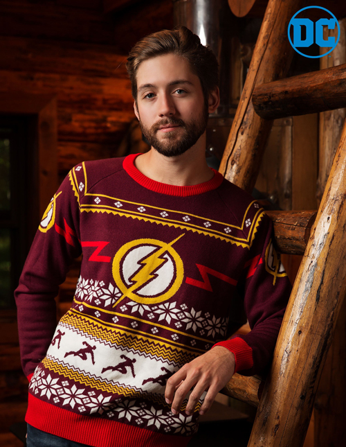 The Flash Holiday Sweater