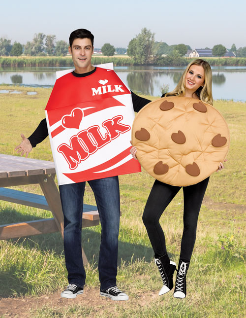 Cookie and Milk Costume