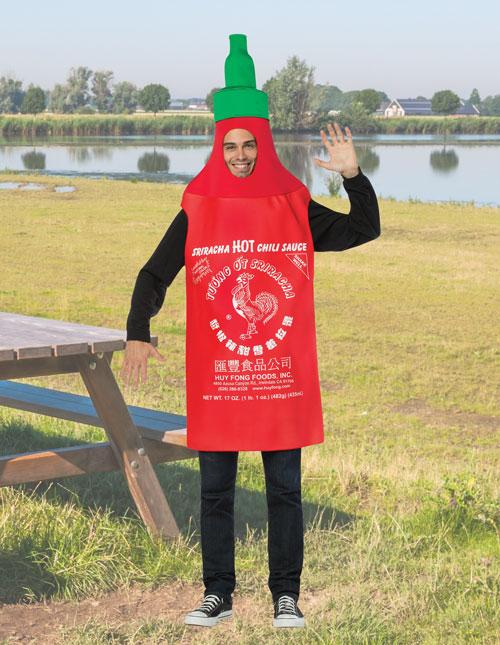 Sriracha Costume