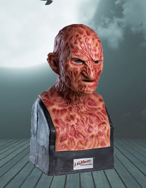Collector Freddy Krueger Silicone Mask