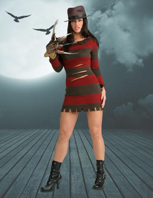 Miss Freddy Krueger Costume