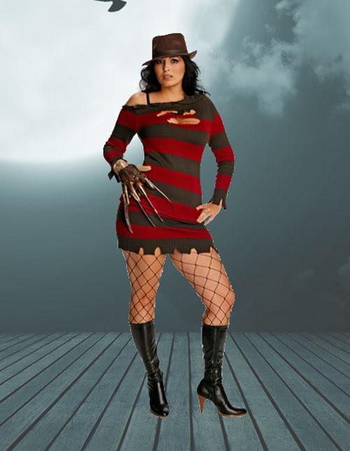 Plus Size Freddy Krueger Costume