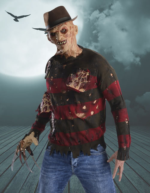 Freddy Sweater with Latex Flesh