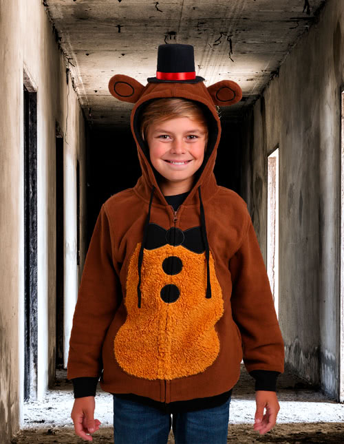 Five Nights at Freddyu0027s Hoodie  sc 1 st  Halloween Costumes : kids freddy costume  - Germanpascual.Com