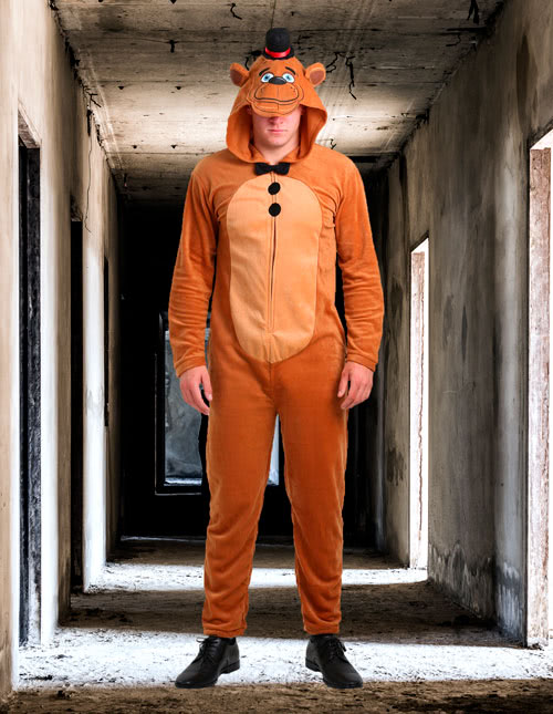 Nightmare Foxy Five Nights Freddy/'s Fancy Dress Halloween Deluxe Adult Costume