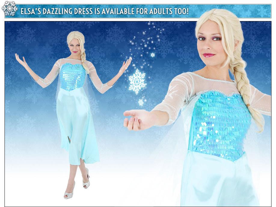 Adult Elsa Costume