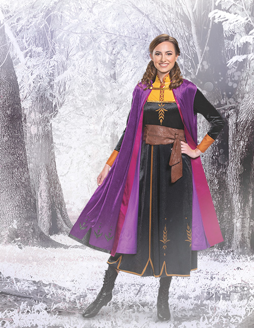 Frozen 2 Anna Costume for Adults