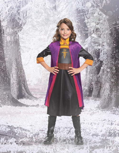 Frozen 2 Anna Costume for Girls
