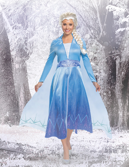Frozen 2 Elsa Costume for Adults