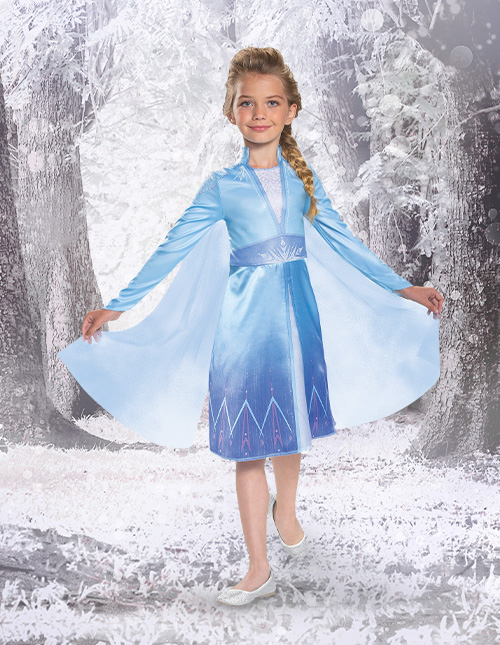 Frozen 2 Elsa Costume for Girls