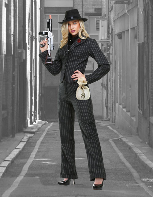 Women's Gangster Suit