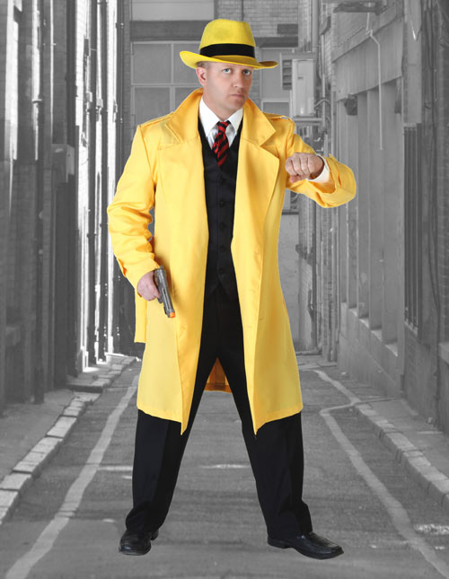Yellow Detective Jacket