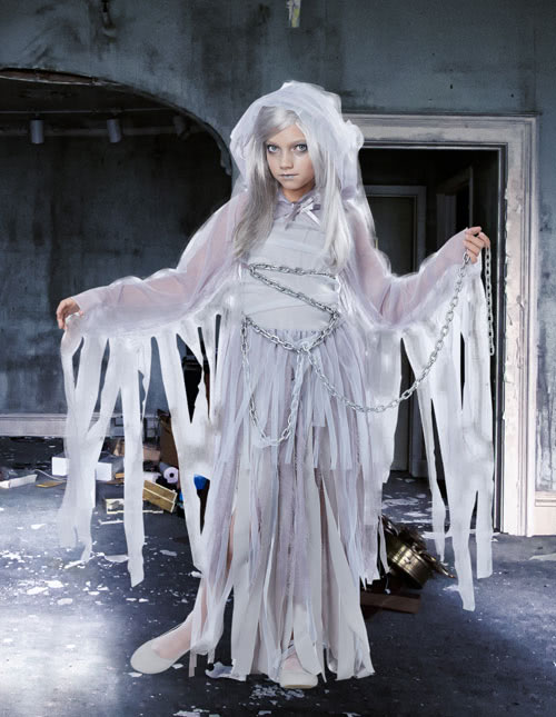Girls Ghost Costume