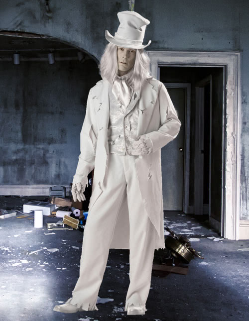 Ghost Groom Costume