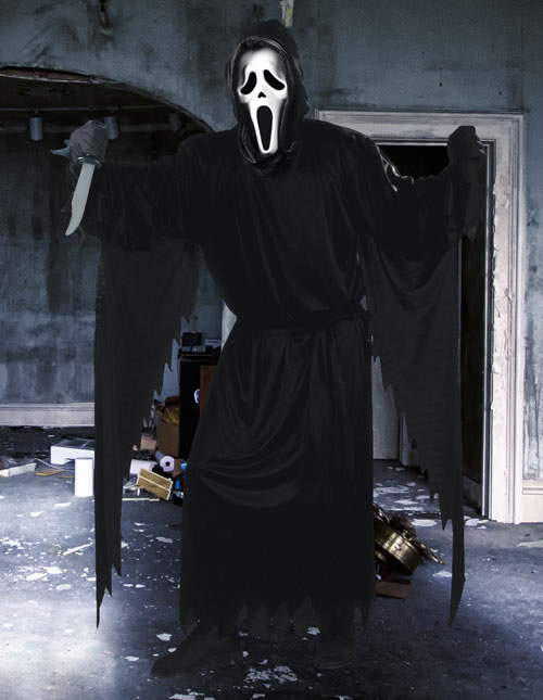 scream costume - The First Halloween Costumes