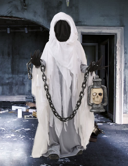 Boys Ghost Costume & Ghost Costumes - Adult Kids Ghost Halloween Costume