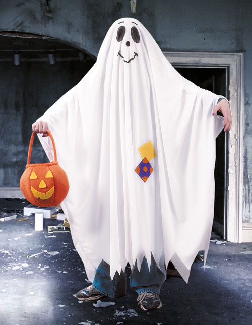 Ghost Costumes - Adult, Kids Ghost Halloween Costumes