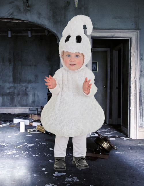 Toddler Ghost Costume  sc 1 st  Halloween Costumes & Ghost Costumes - Adult Kids Ghost Halloween Costume