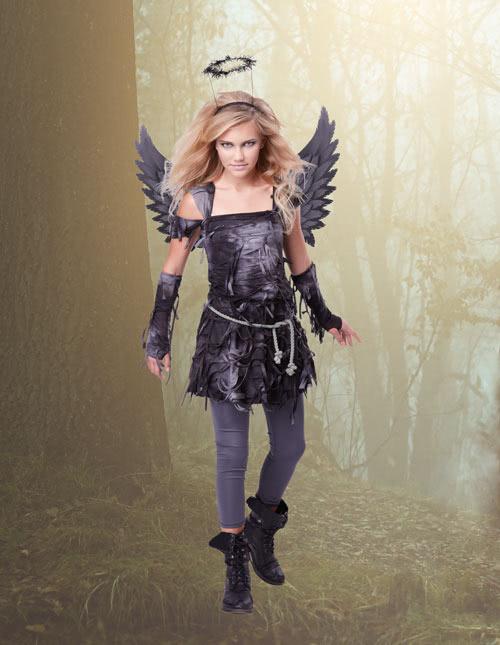 spooky angel costume