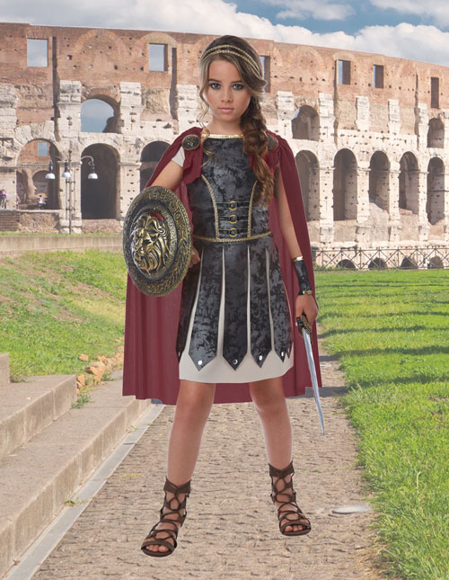 Girls Arena Gladiator Costume