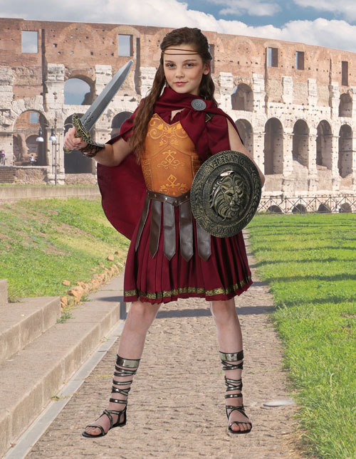 Girls Gladiator Costume