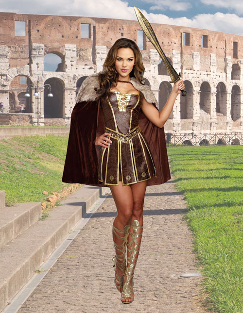 Women's Victorious Gladiator Costume