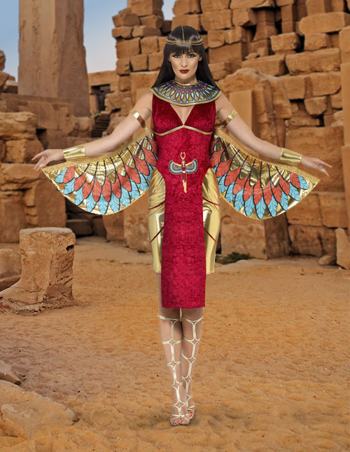 Egyptian Goddess Isis Costume