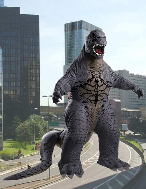 Godzilla Inflatable Costume