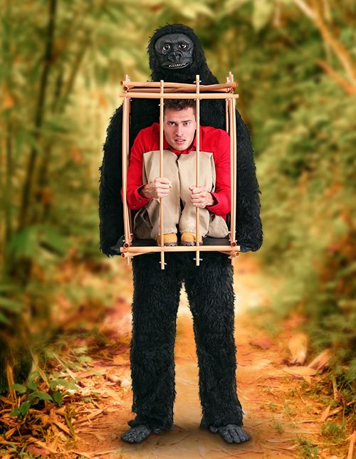 Gorilla Cage Costume