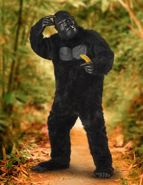 Realistic Gorilla Costume