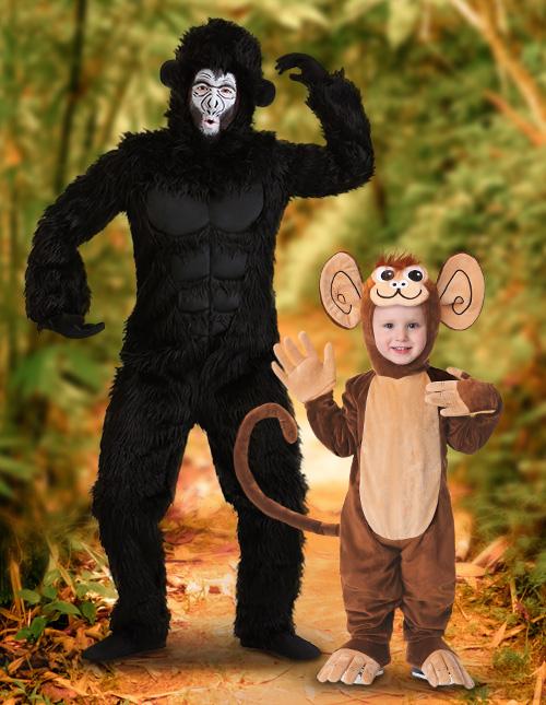 Toddler Monkey Costume