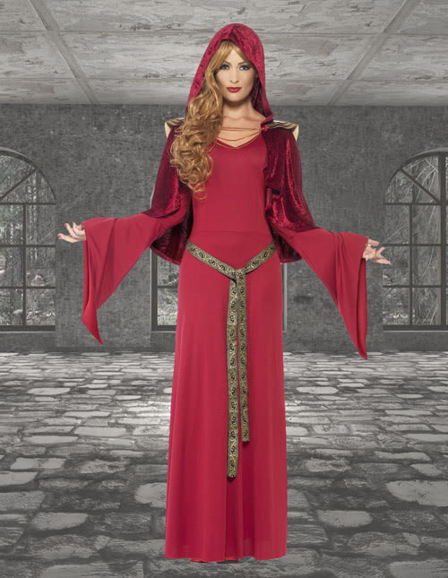 Red Woman Costume