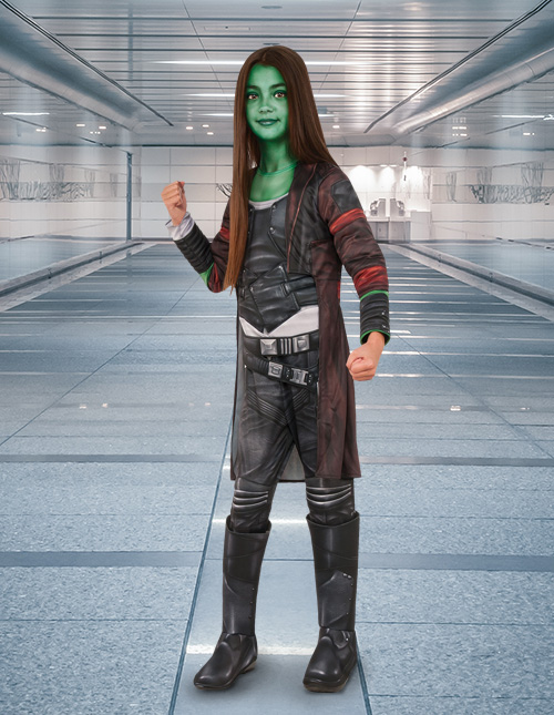 Guradians of the Galaxy Gamora Costume