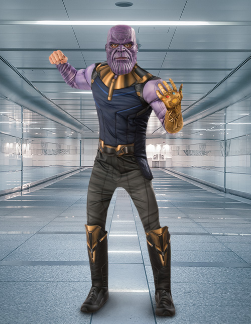 Thanos Halloween Costume