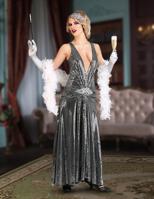 Great Gatsby Flapper Costumes