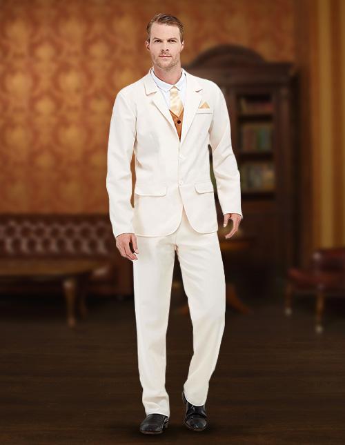 White Suit Costume