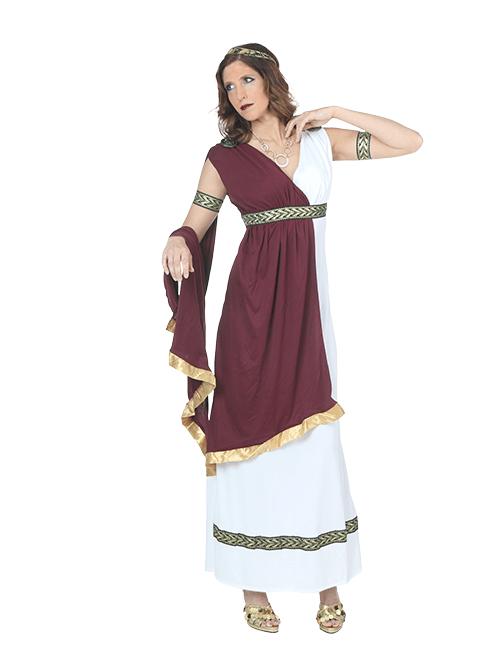 Greek Goddess Serene Stance Pose