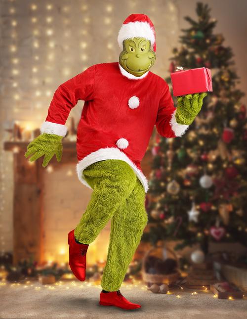 Authentic Grinch Costume