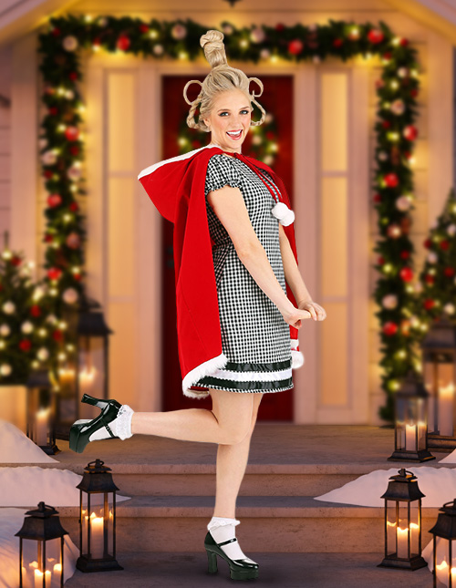 Cindy Lou Who Costume for Adults