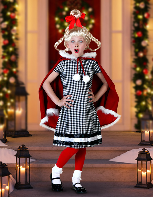 Cindy Lou Who Costume Kids