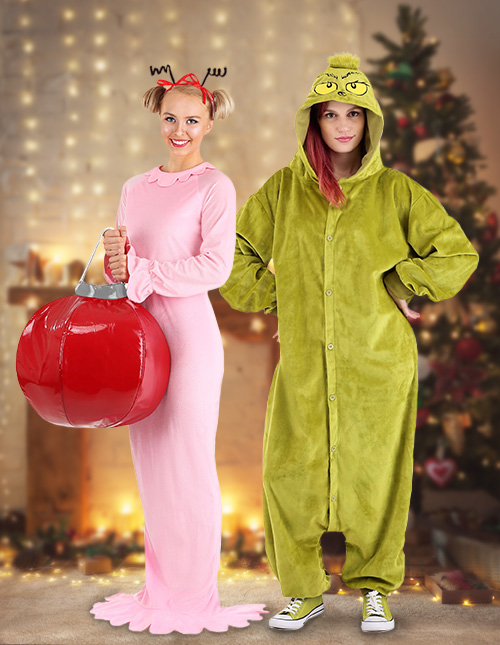 Grinch and Cindy Lou Costume