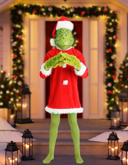Mens Grinch Costume