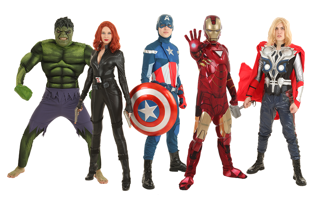 Avengers Assemble Group Costumes