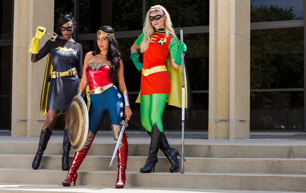 DC Superhero Group Costumes