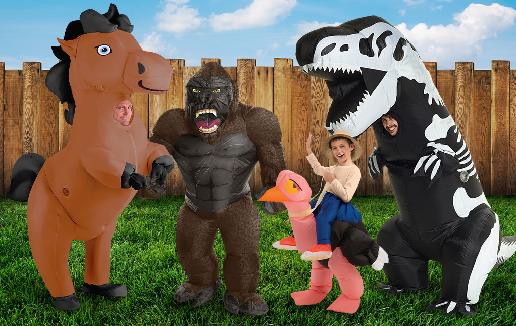 Inflatable Group Costumes