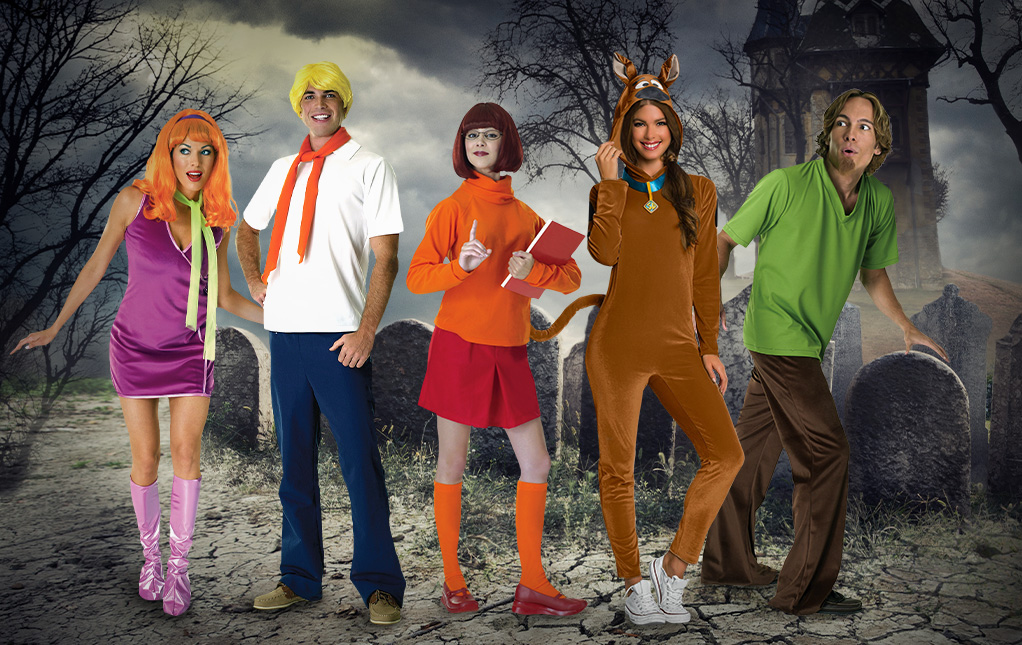 Scooby-Doo Group Costumes